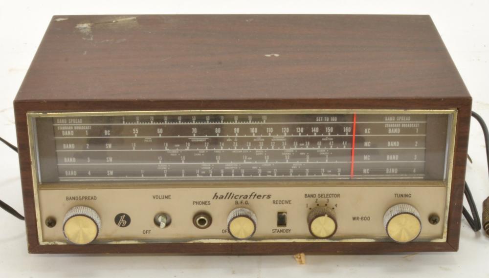 Vintage Hallicrafters WR-600 Vintage Shortwave Radio