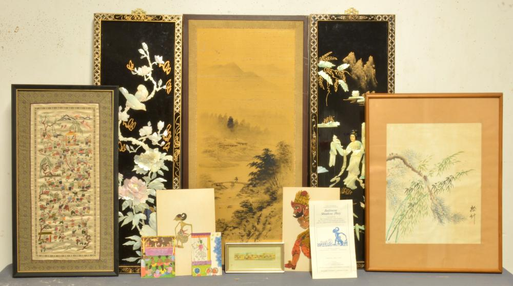 Antique Estate Asian Art Collection Group Lot