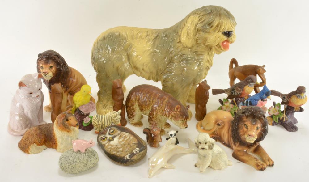 Vintage Animal Figurine Estate Collection