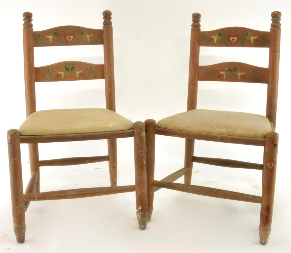 Vintage Styled By Phoenix Children's Chairs