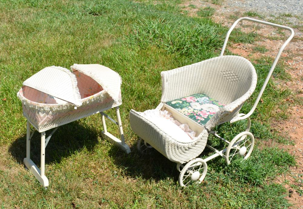 Vintage Wicker Childs Collection