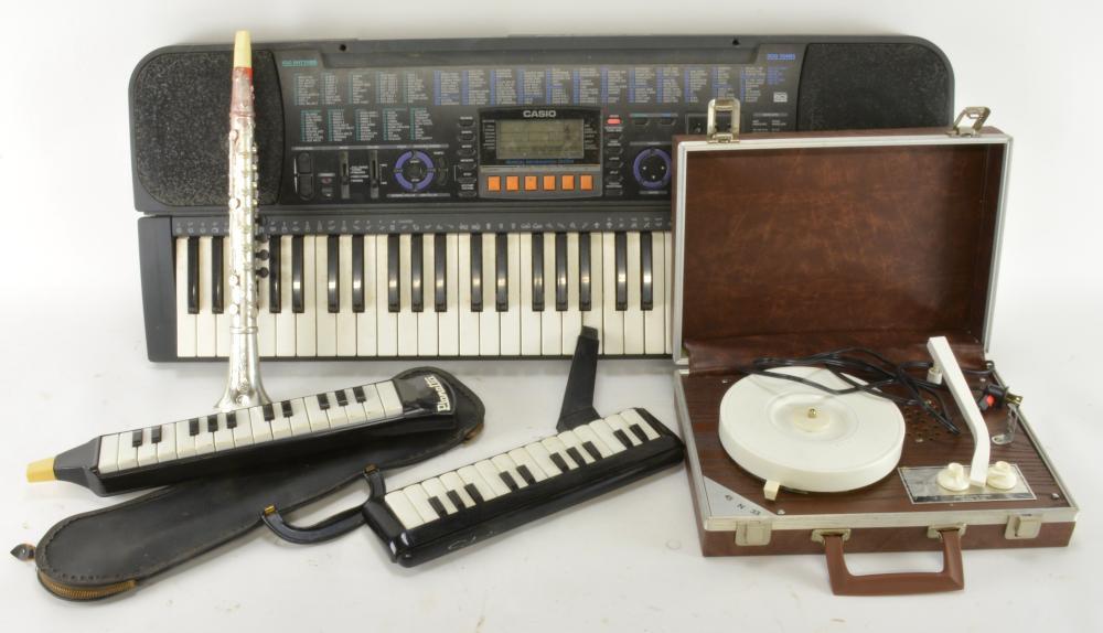 Vintage Casio Music Estate Group Lot