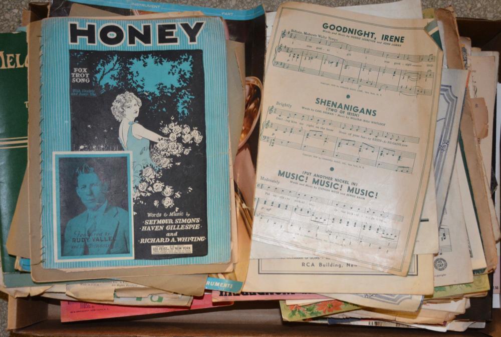 Antique Sheet Music Estate Collection