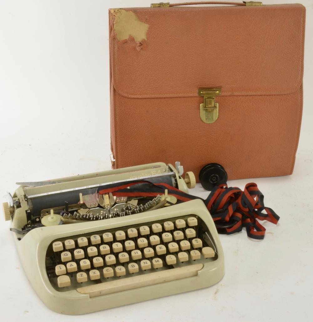 Vintage Royalite 64 Typewriter Portable Carrying Bag