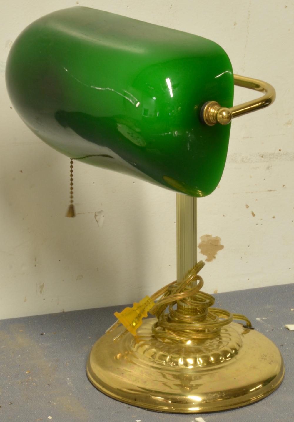 Vintage Emerald Lite Desk Lamp