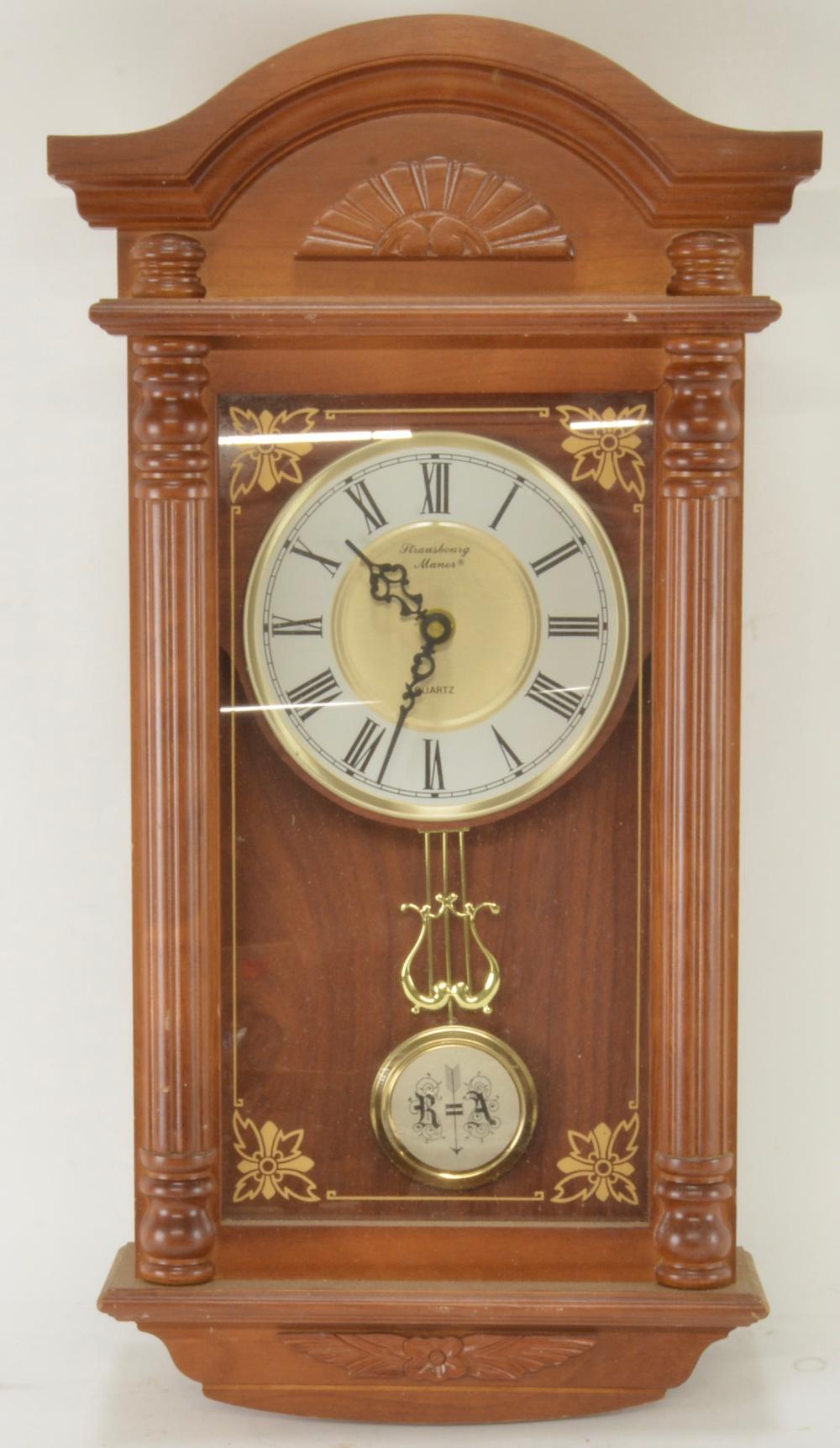 Vintage Strausbourg Manor Wall Clock