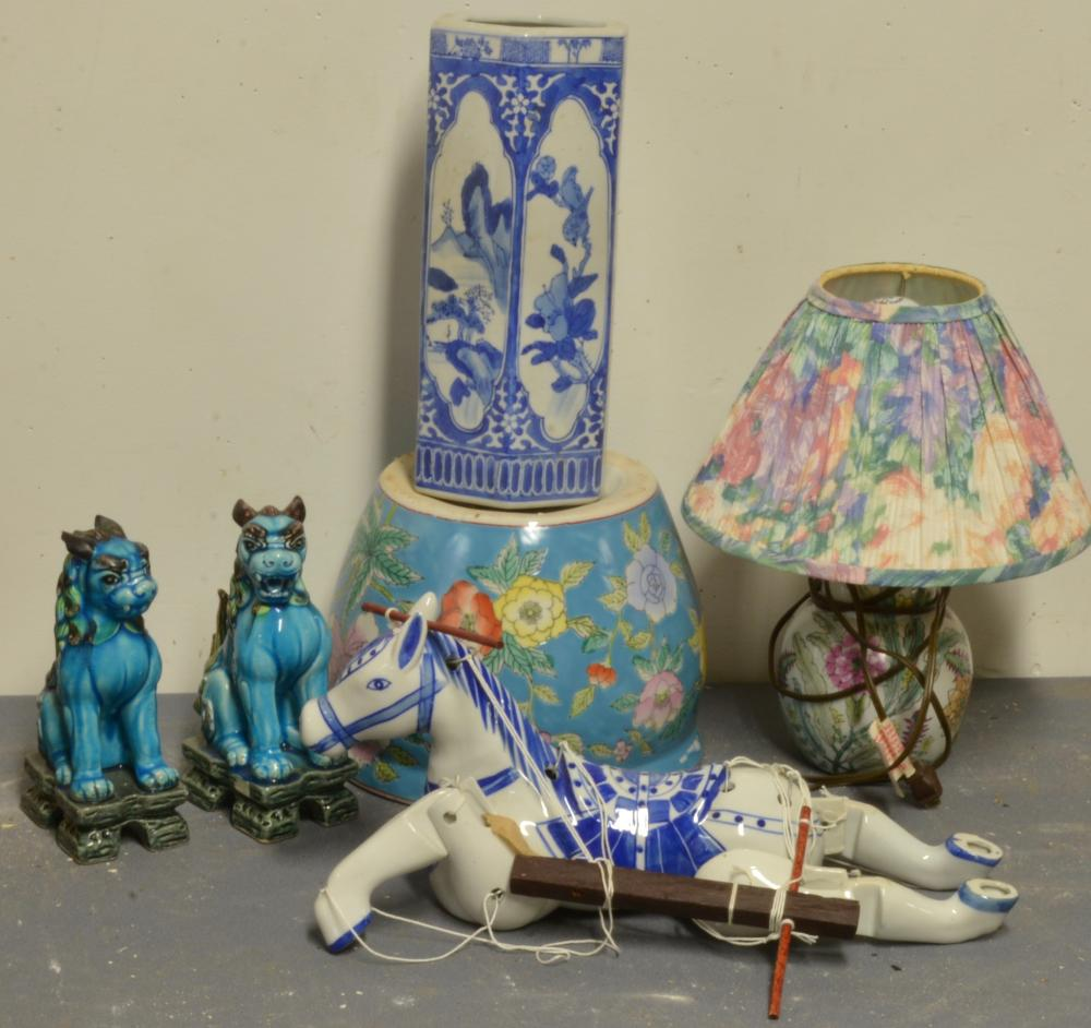 Vintage Chinese Porcelain Estate Group Lot