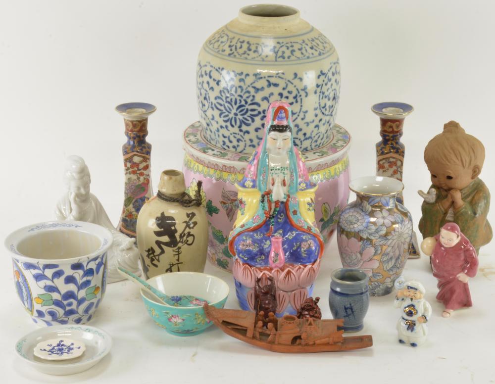 Vintage Asian Porcelain Estate Collection