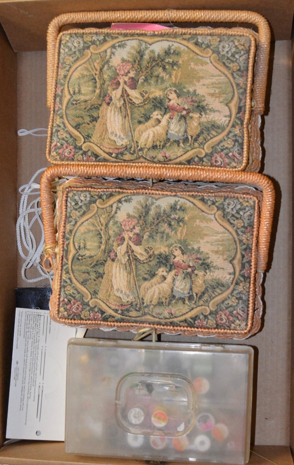 Vintage Sewing Baskets Estate Collection