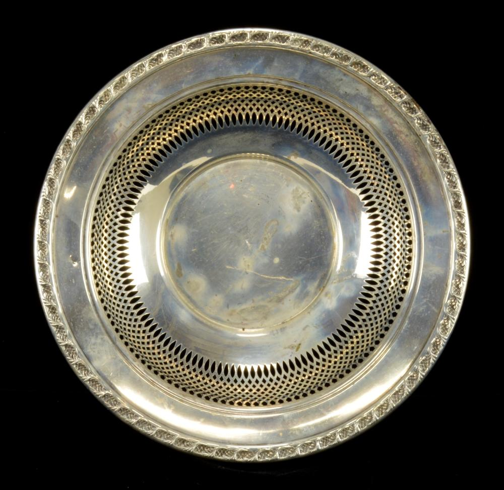 Frank M. Whiting Sterling Silver 668 Bowl