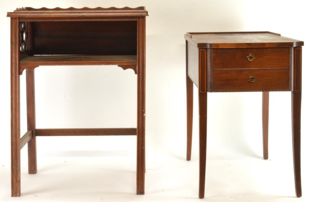 Vintage Mahogany Telephone Tables