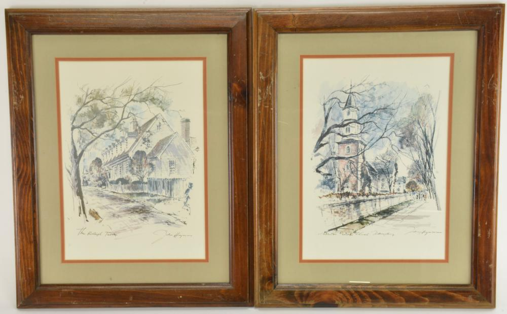 John Haymson Artist Print Collection