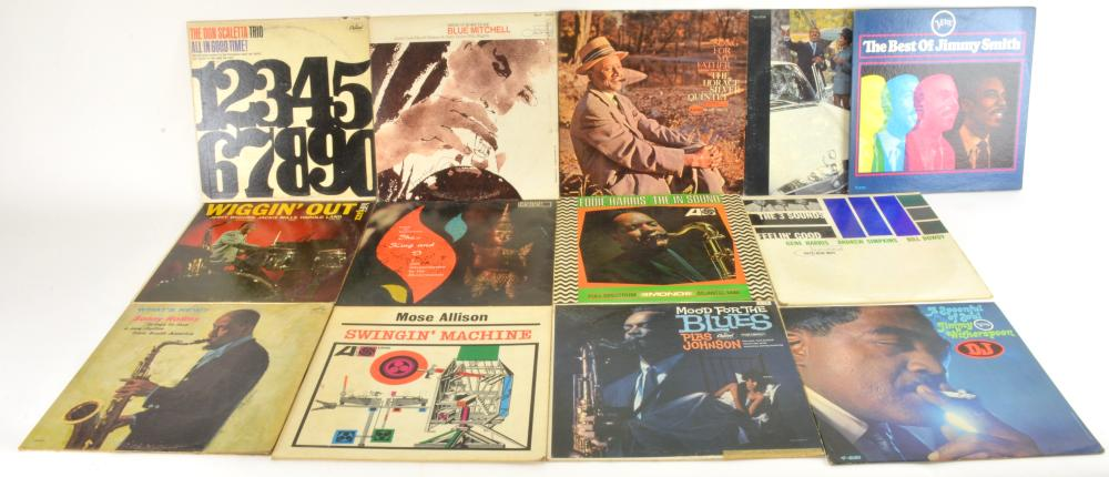 Vintage Vinyl Blues Albums