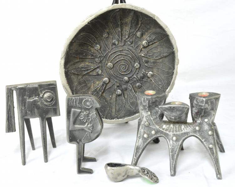 Don Drumm Aluminum Sculptures