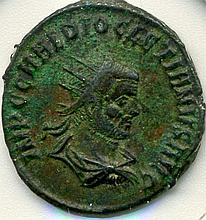 C. 284-305 AD, Diocletian, Roman Empire, AR Antoniniaus