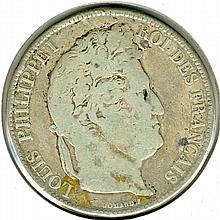 1843, France, 5 Francs