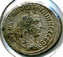 C. 244-249 AD, Philip I, Roman Antioch, Billon Tetradrachm
