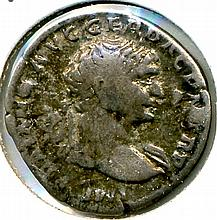 C. 98-117 AD, Trajan, Roman Empire, AR Denarius