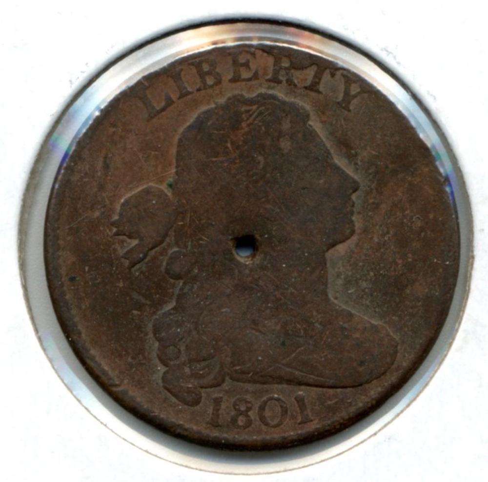 1801 U.S. Draped Bust Large Cent
