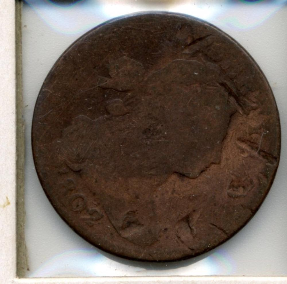 1802 U.S. Draped Bust Large Cent