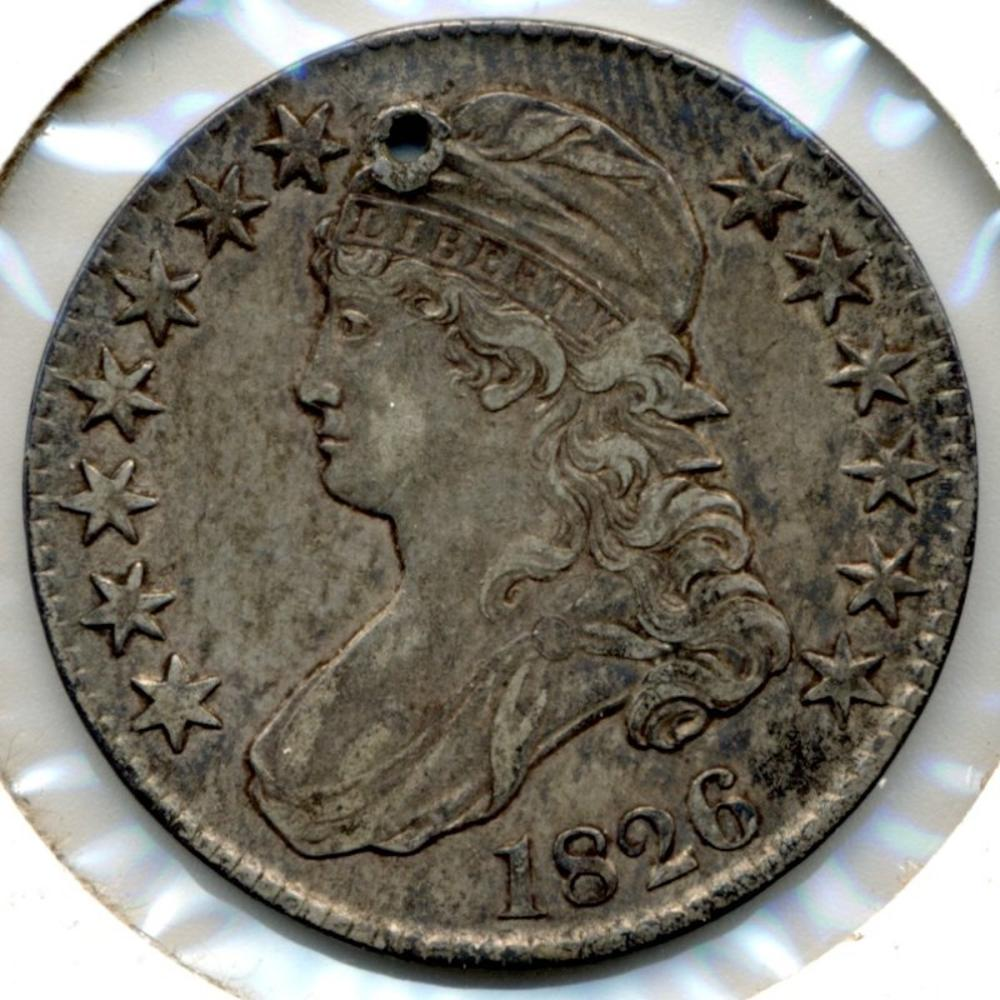 1826 U.S. Capped Bust Half Dollar