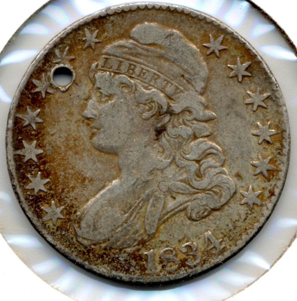 1834 U.S. Capped Bust Half Dollar