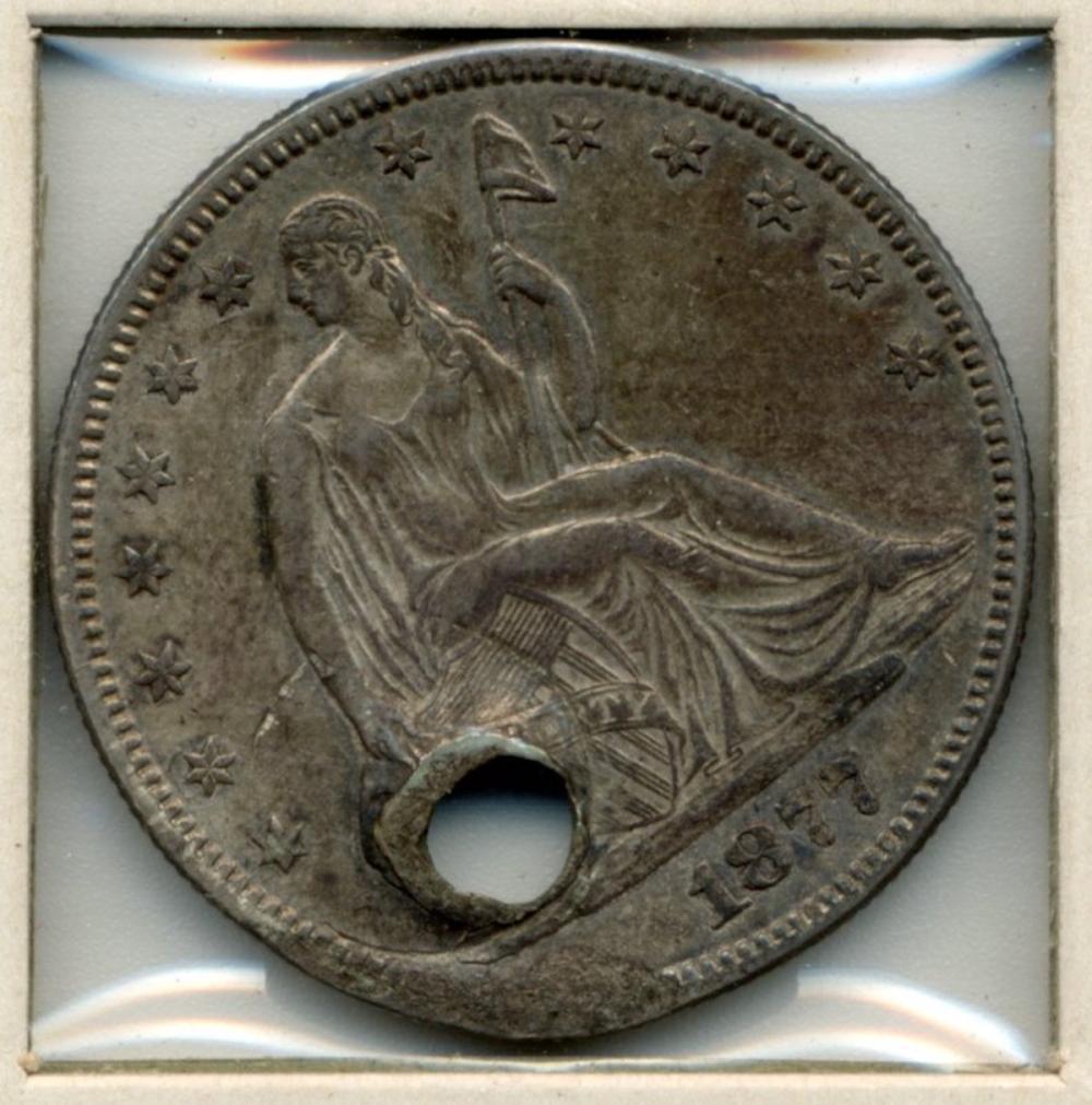 1877 U.S. Seated Liberty Half Dollar