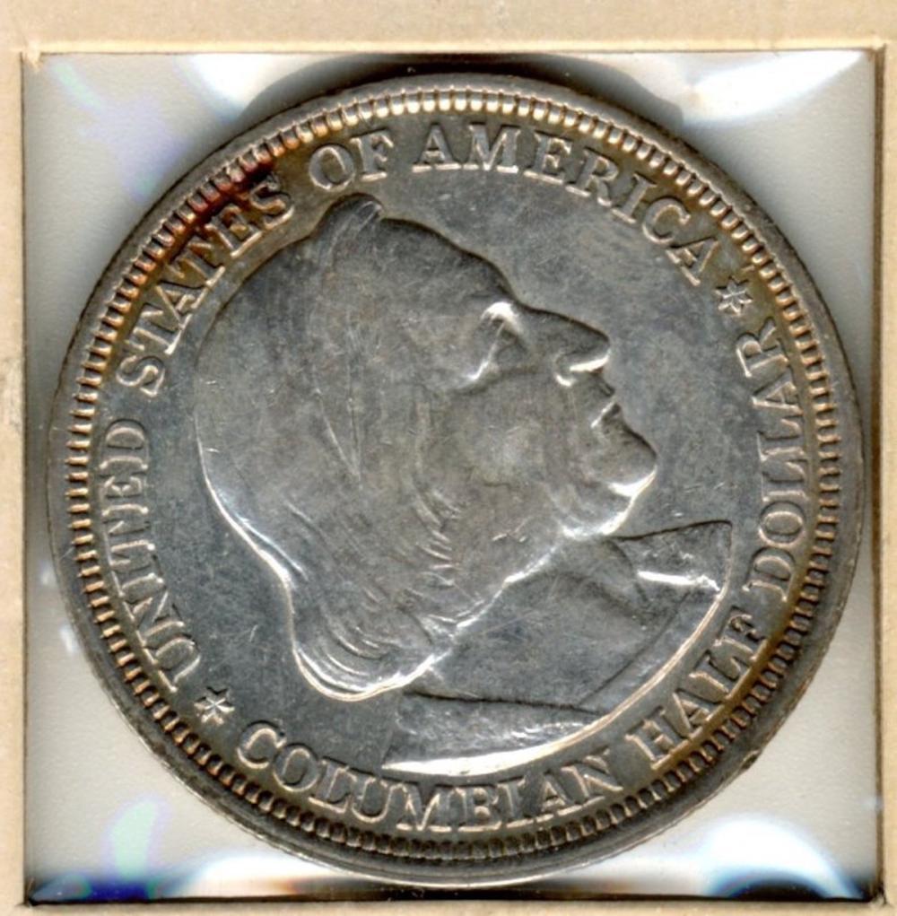 1893 Columbian Silver Commemorative Half Dollar