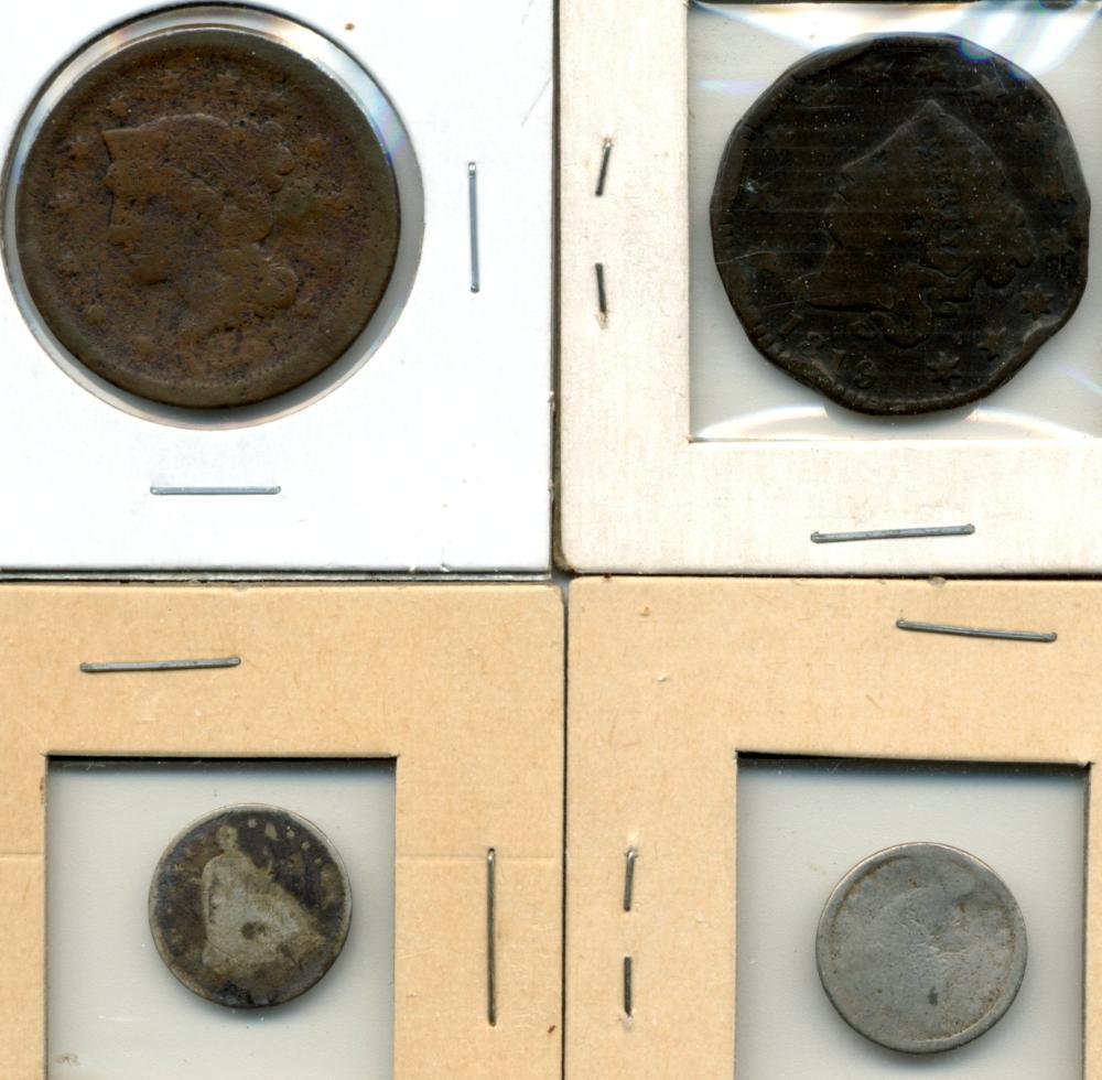 (4) Original U.S. Type Coins