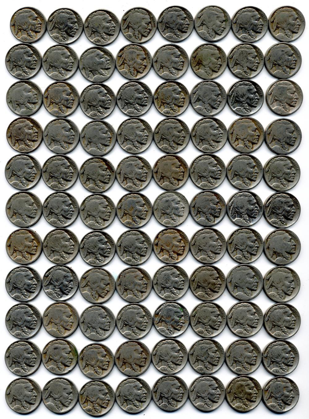 (113) Buffalo Nickel Estate Collection