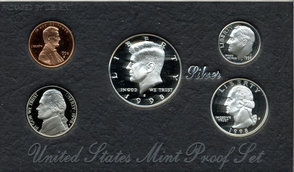 1998 U.S. Mint Silver Proof Set