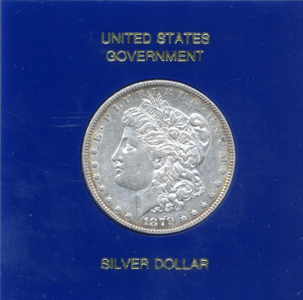 1879 U.S. Government Morgan Silver Dollar