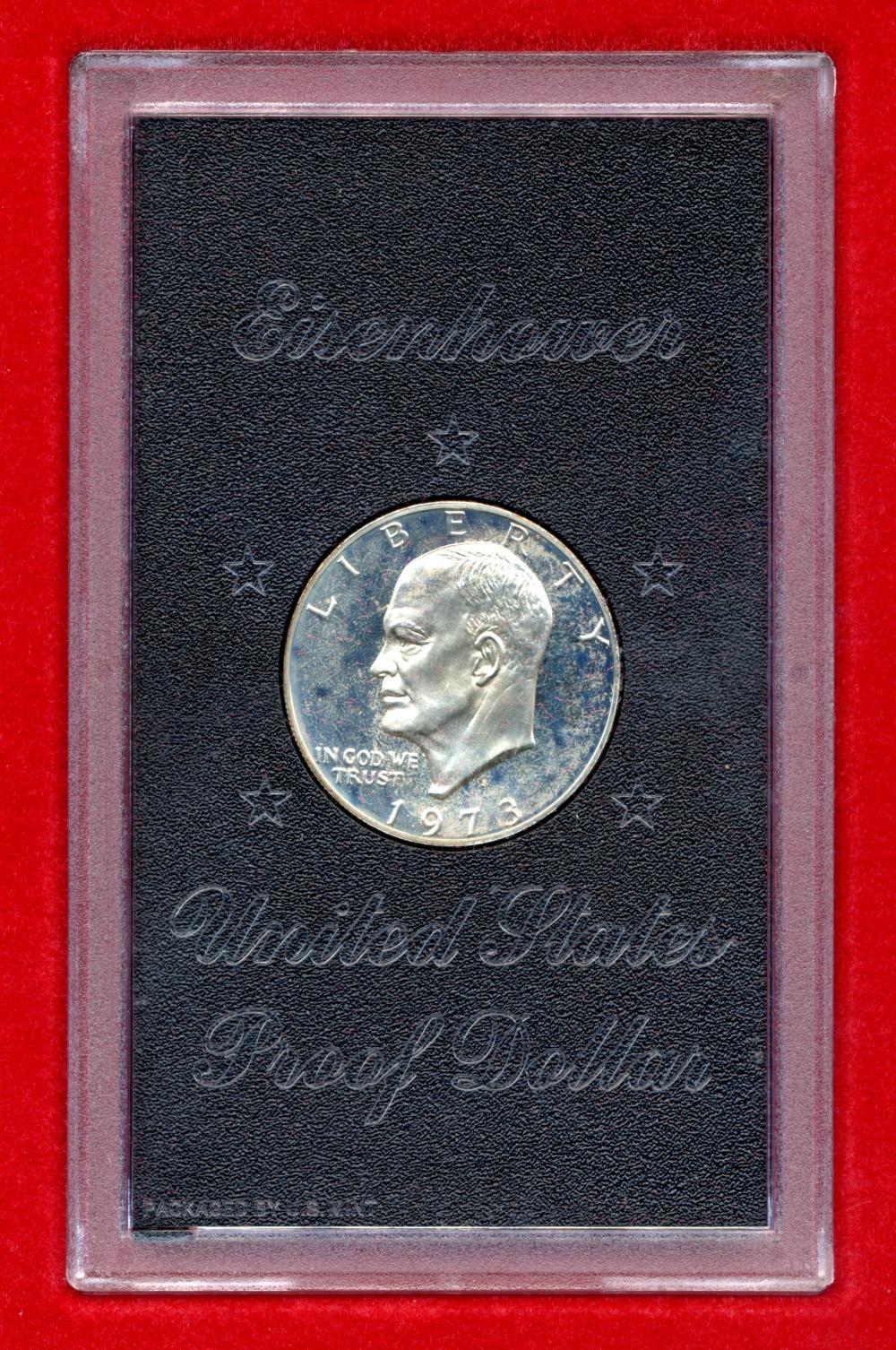 1973 S Eisenhower Proof Dollar