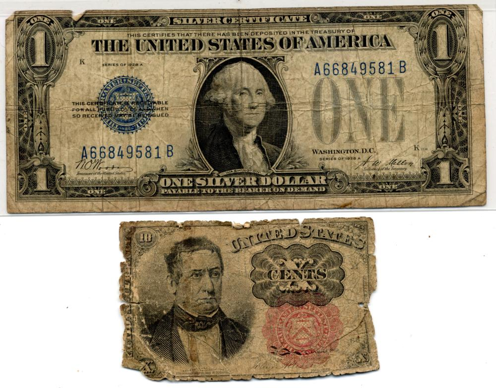Early U.S. Currency Notes
