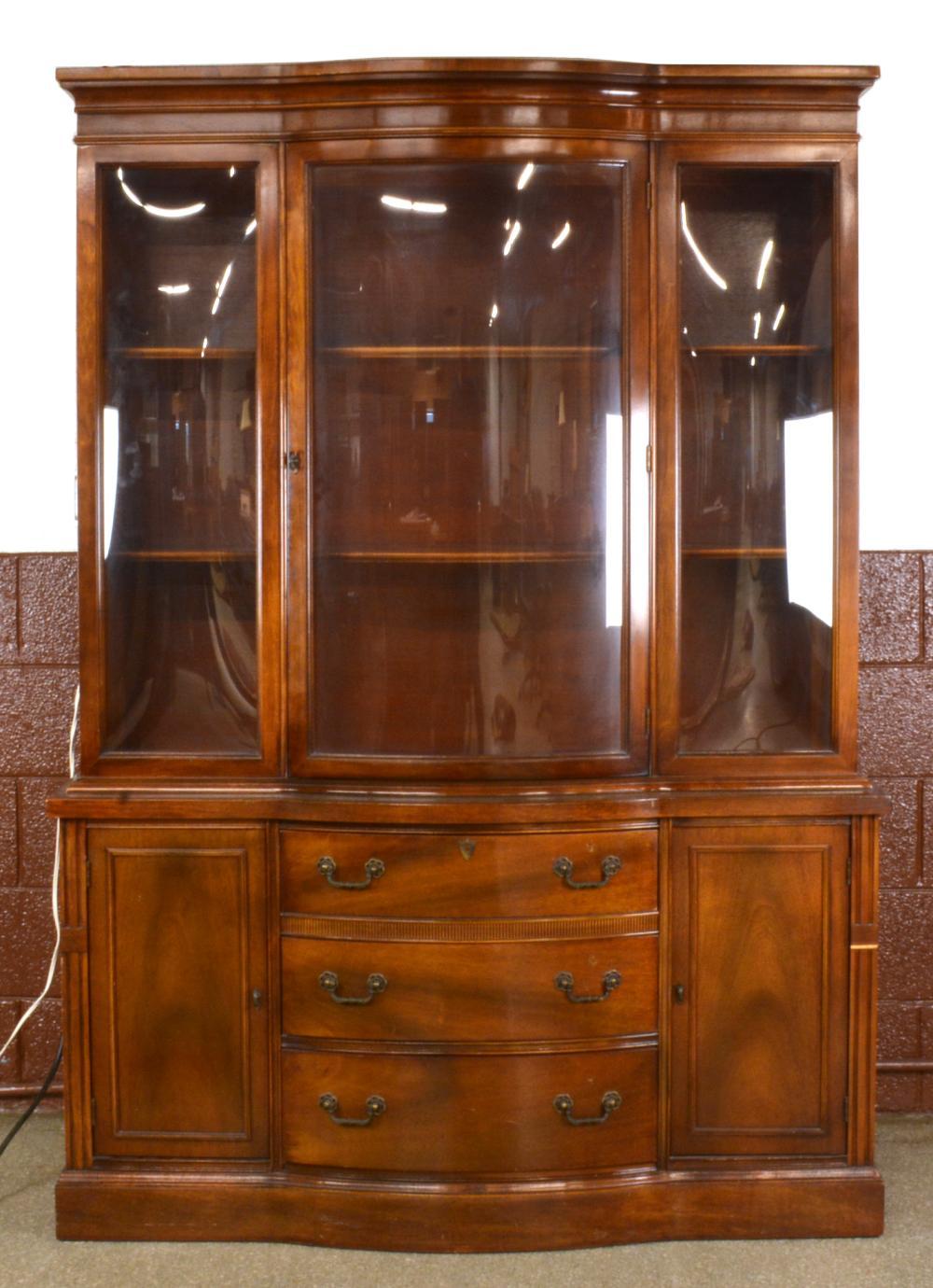 Sold Formal Mahogany Dining Room, Mahogany Dining Room Cabinet