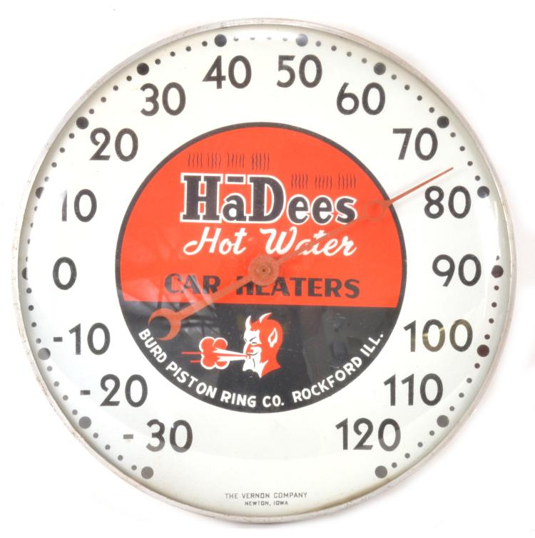 Hot Water Dial : Hadees hot water car heaters dial thermometer