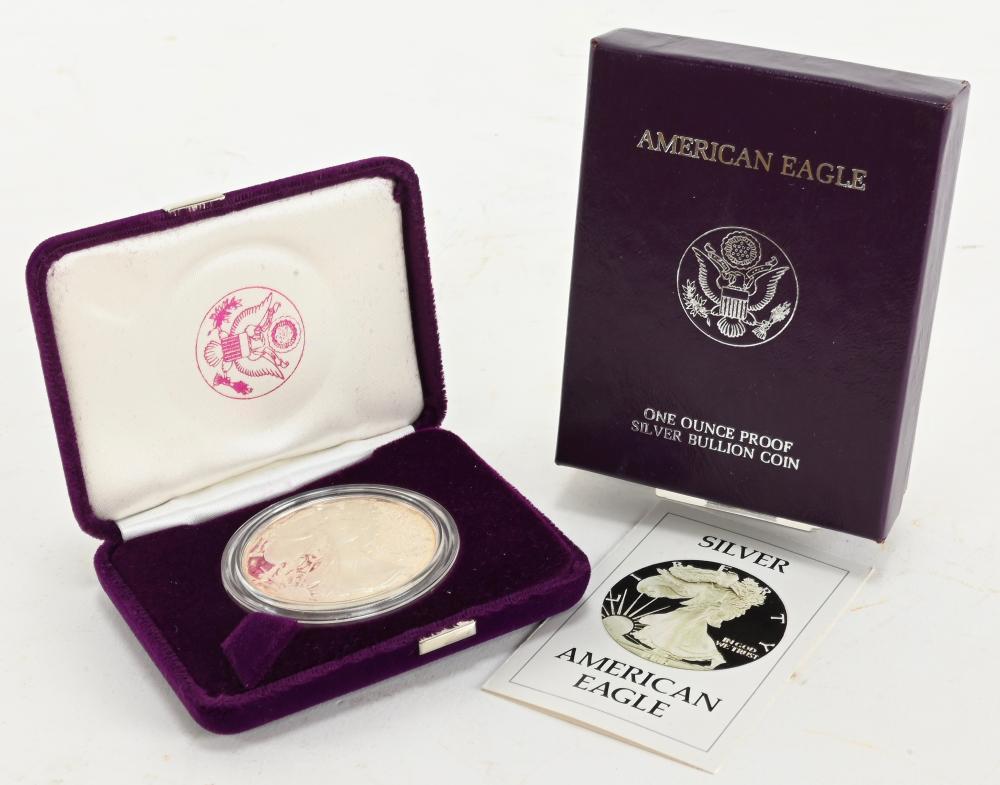 Original 1986 Proof American Silver Eagle