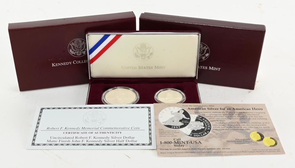Original 1998 U.S. Kennedy Collectors Set