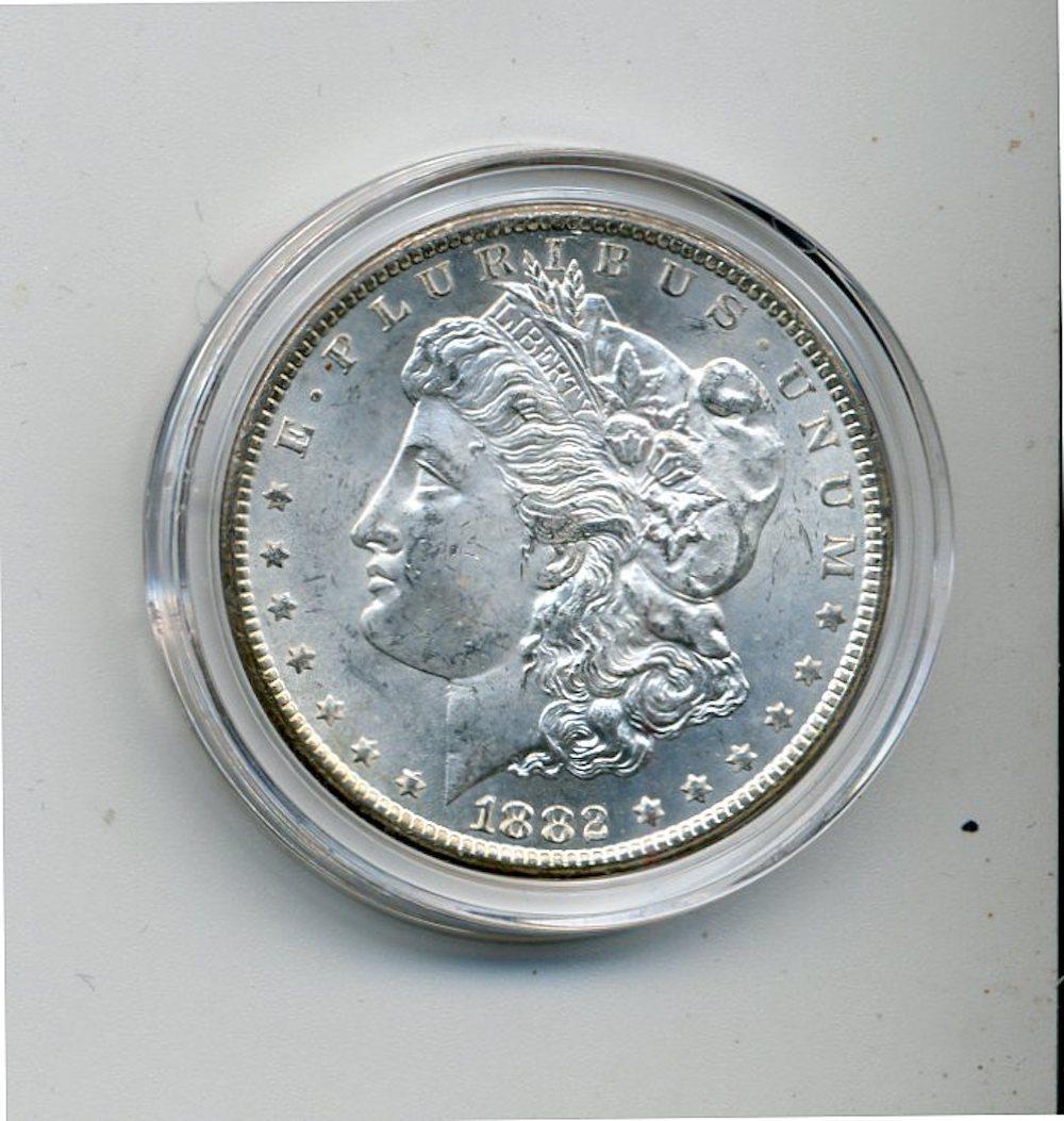 Original 1882-CC Morgan Silver Dollar