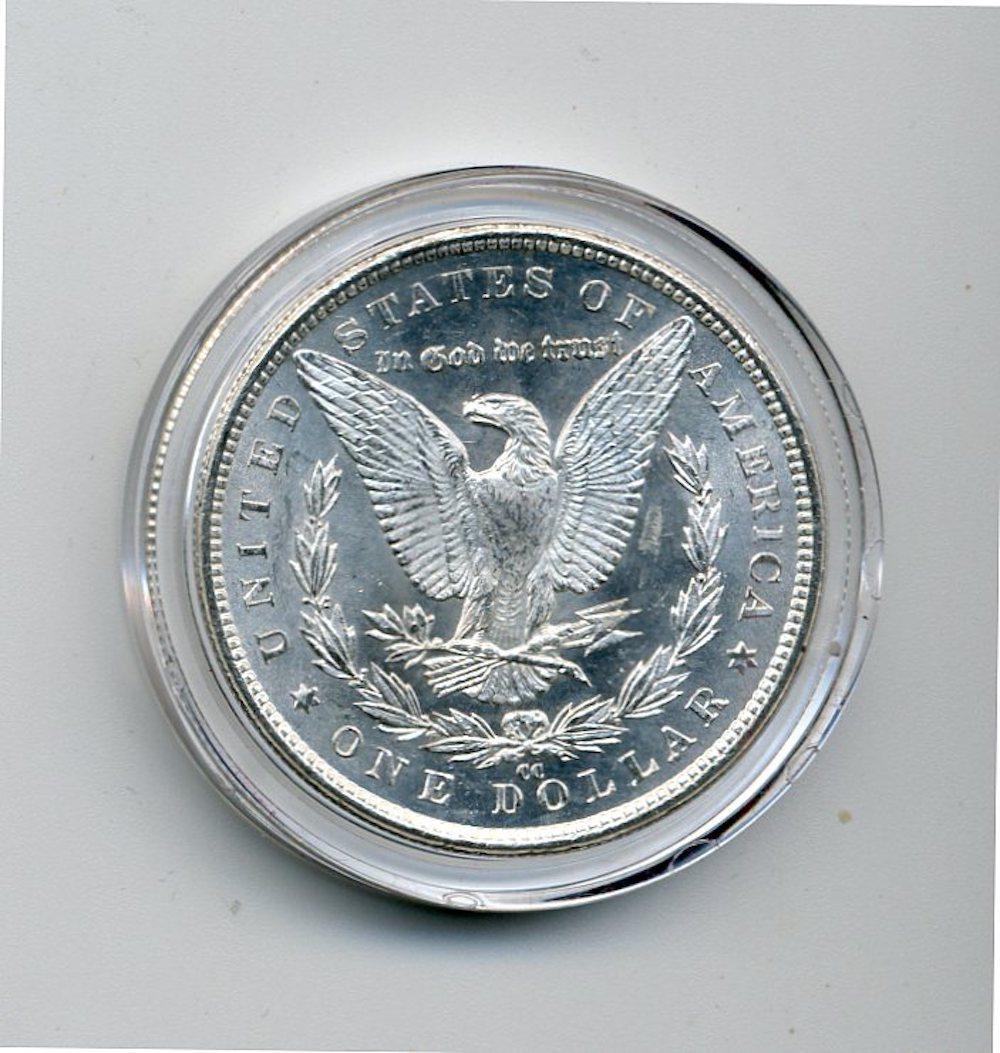 Original 1883-CC Morgan Silver Dollar