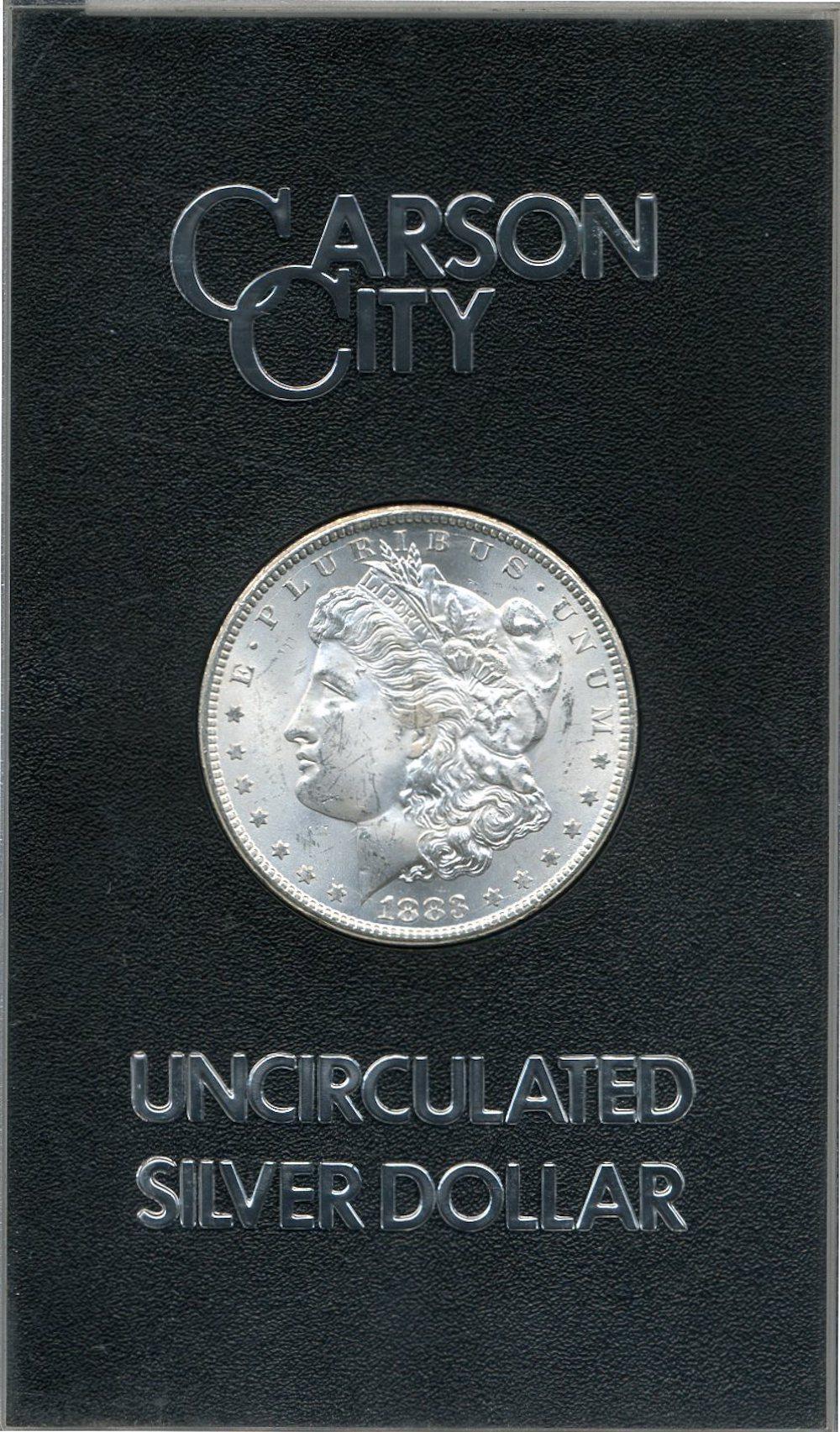 Original 1883-CC GSA Morgan Silver Dollar