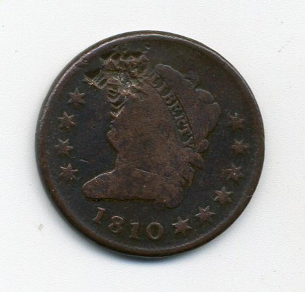 Original 1810 Classic Head Cent