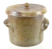 Jacob Doris Craven North Carolina Lidded Butter Crock