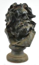 Cast Iron Moses Bust