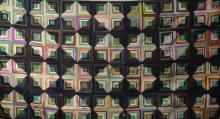 Southern Hand Made Log Cabin Quilt