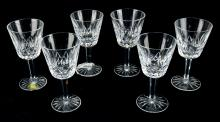 Waterford Lismore Claret Wine Glasses