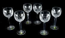 Waterford Lismore Wine Hocks