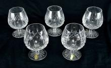 Waterford Lismore Brandy Glasses
