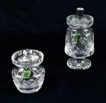 Waterford Lismore Jam and Honey Jar