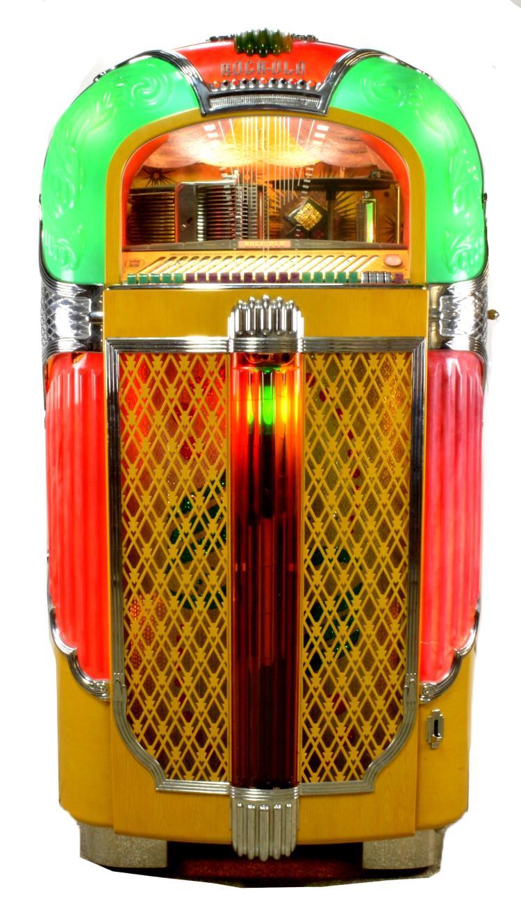 Rockola Christmas Tree Jukebox